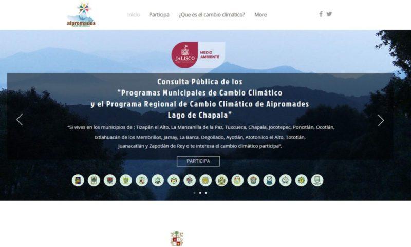 Consulta Pública de los Programas Municipales de Cambio Climático