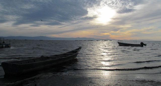 Niveles del Lago de Chapala en Enero de 2018
